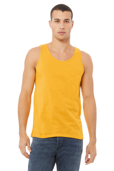 GOLD ESSENTIAL JERSEY TANK