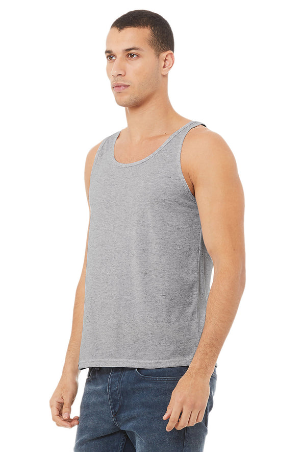 ATHLETIC HEATHER ESSENTIAL JERSEY TANK