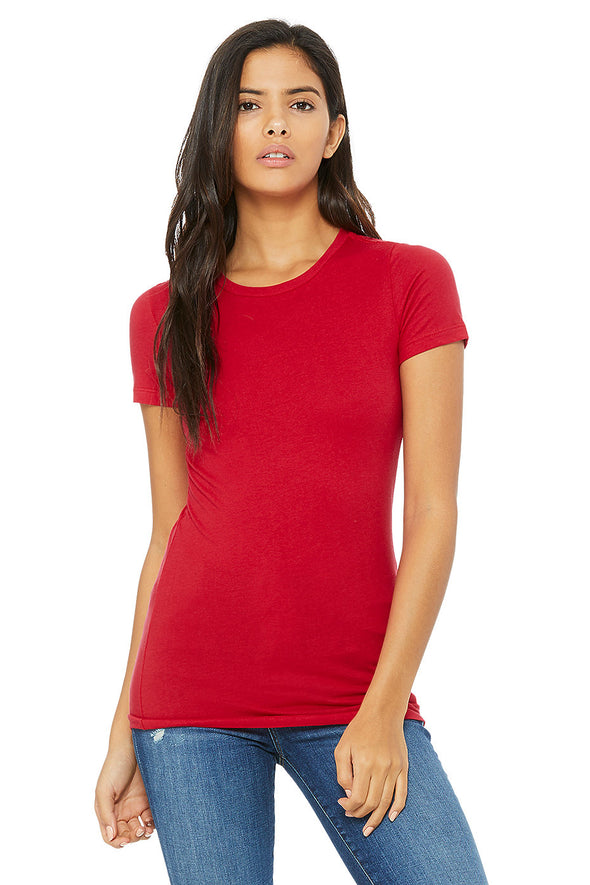 RED ESSENTIAL WOMEN'S TEE