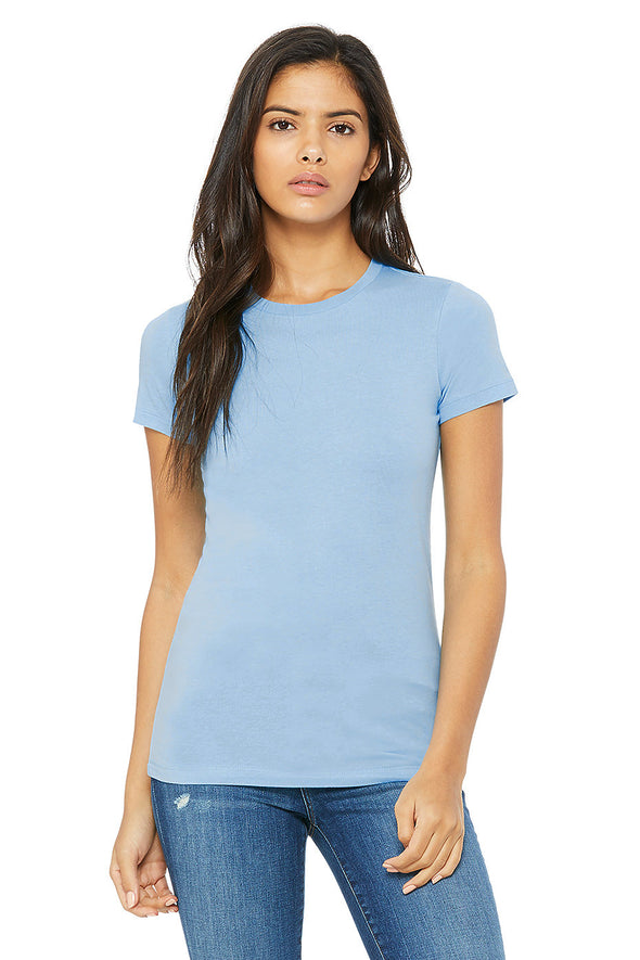 BABY BLUE BLUE ESSENTIAL WOMEN'S TEE