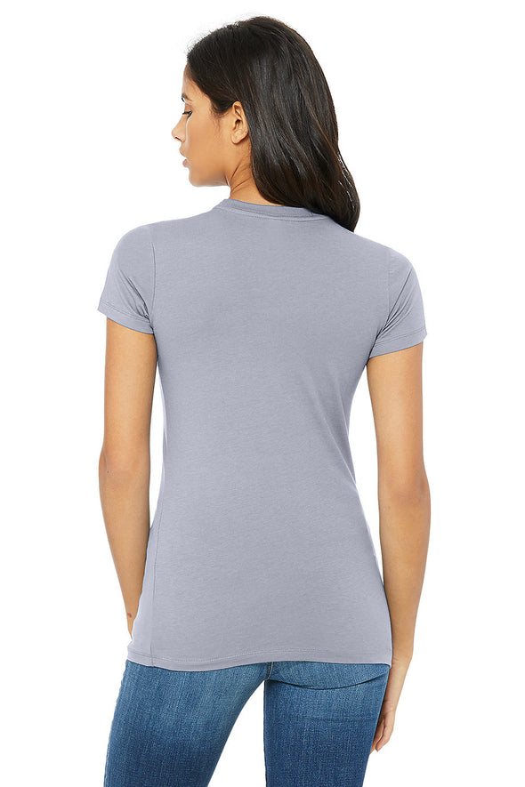 HEATHER BLUE ESSENTIAL WOMEN'S TEE