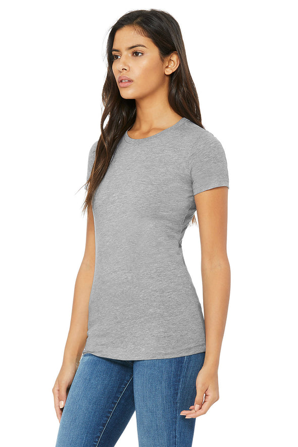 ATHLETIC HEATHER ESSENTIAL WOMEN'S TEE