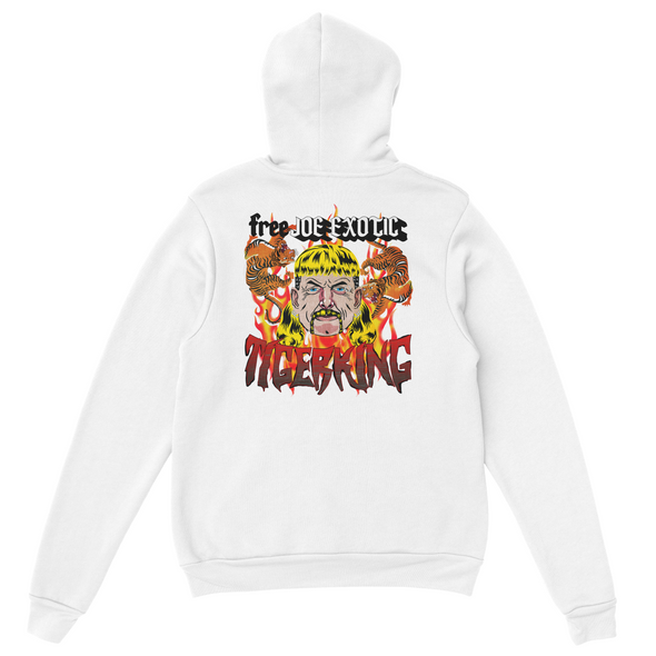 FREE JOE EXOTIC TIGER KING BACK HOODIE