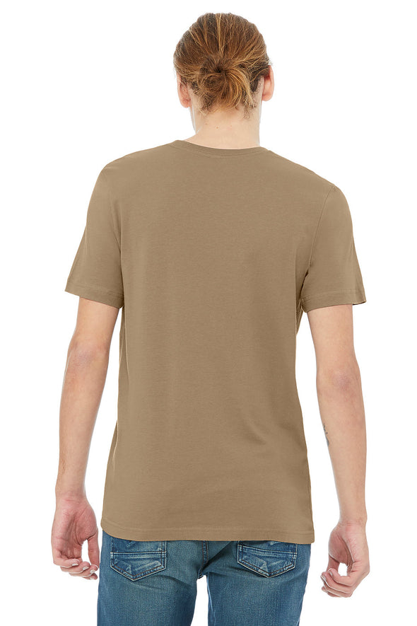 PEBBLE BROWN CREW NECK ESSENTIAL TEE