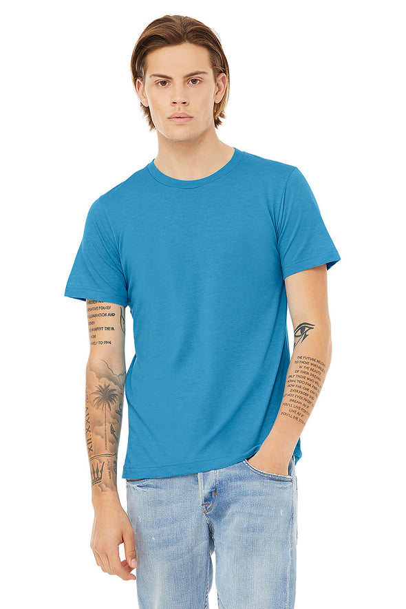 AQUA CREW NECK ESSENTIAL TEE