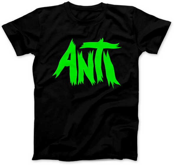 ANTI NEON GREEN PRINT T-SHIRT