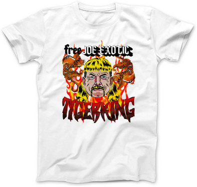 FREE JOE EXOTIC TIGER KING PRINT T-SHIRT