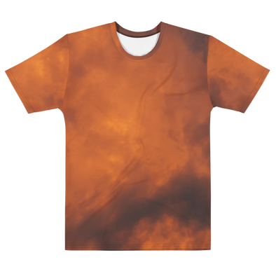 SUNSET ORANGE TEE - TIE DYE