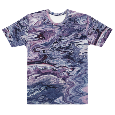 50 SHADES OF PURPLE TEE - TIE DYE