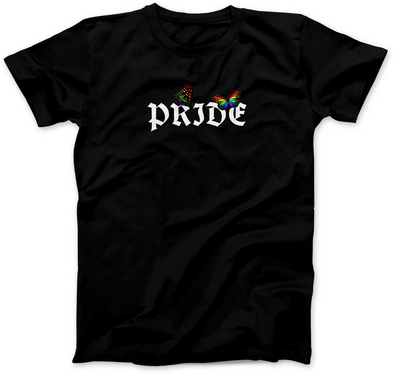 PRIDE BUTTERFLY PRINT T-SHIRT
