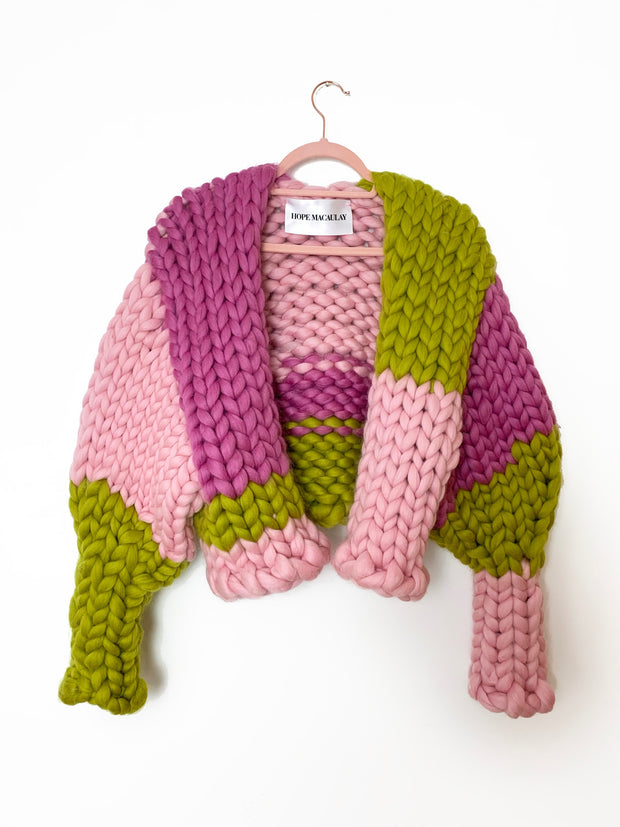 Gooseberry Colossal Knit Jacket