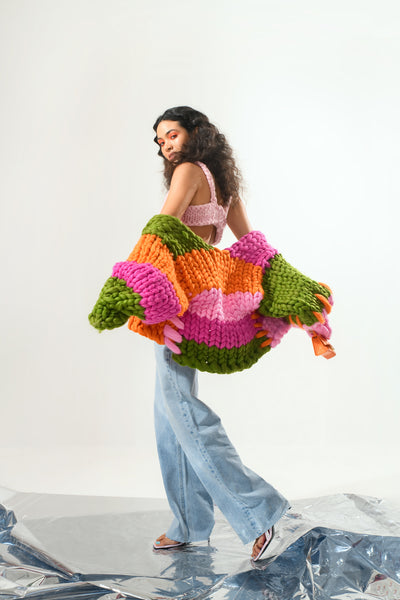 Ariel Colossal Knit Jacket