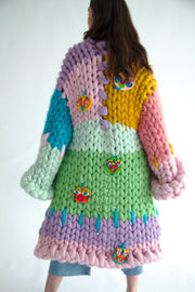 Mythical Beings Colossal Knit Coat