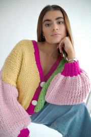 Alice Chunky Knit Cardigan (100% merino wool)
