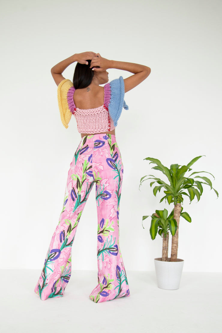 Wonderland Recycled Flared Trousers