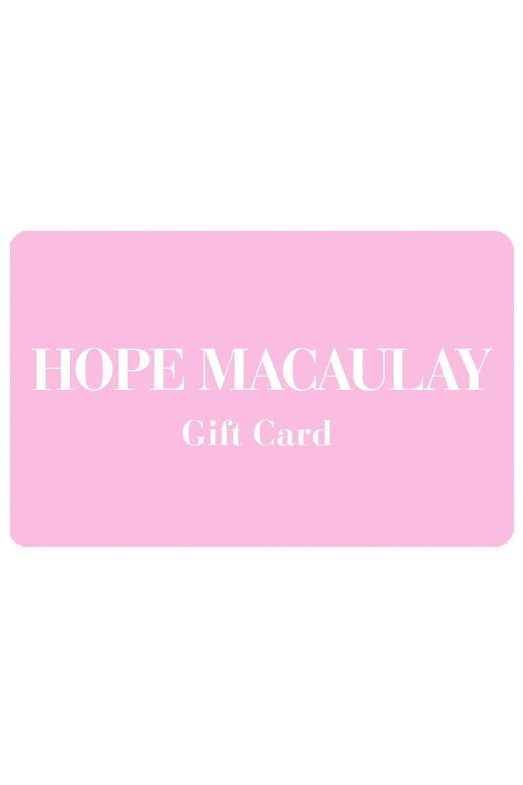 Hope Macaulay Gift Card