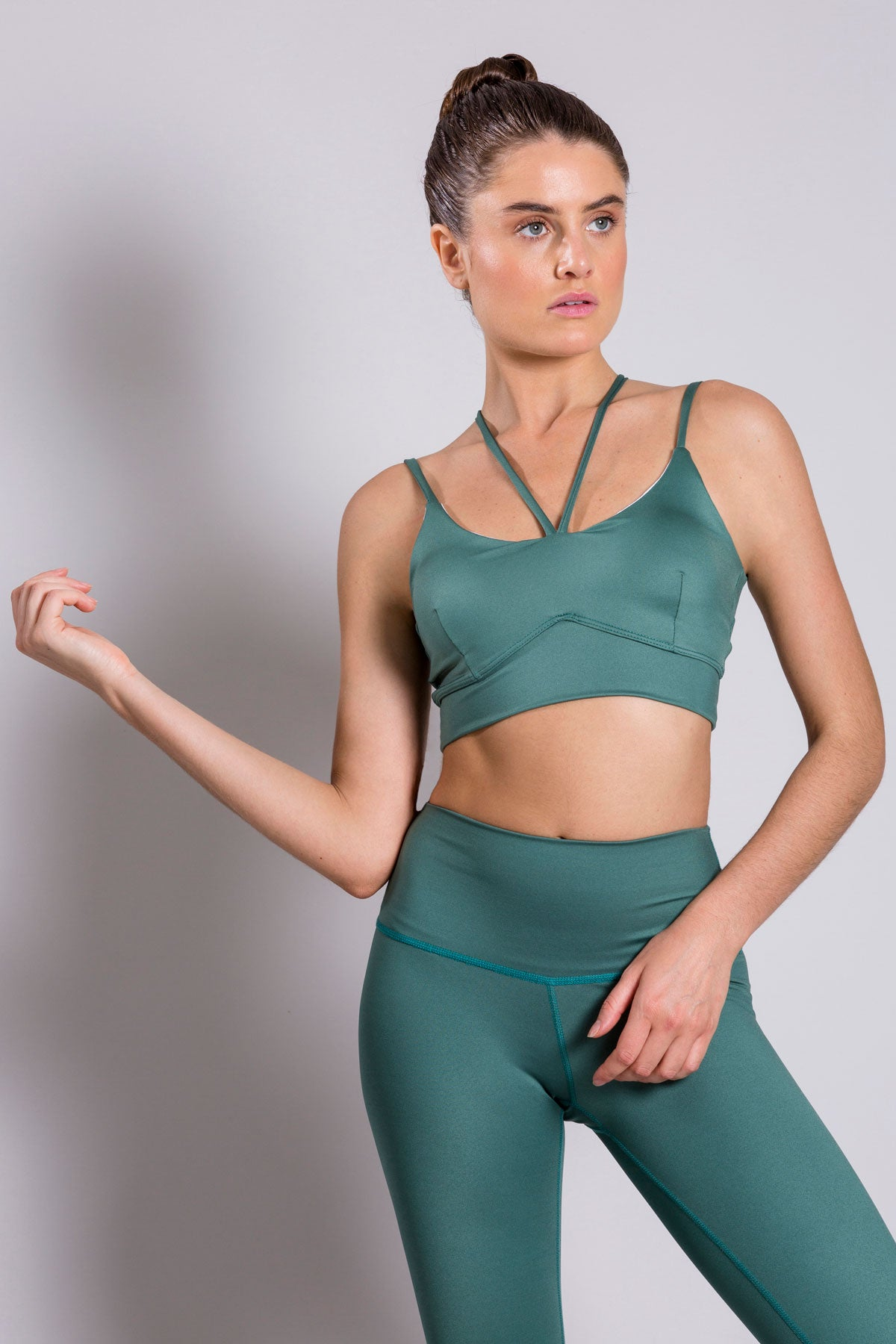Alexa Basic Green Top