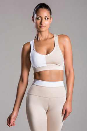 Jacqueline Due Nude Top For Body Barre