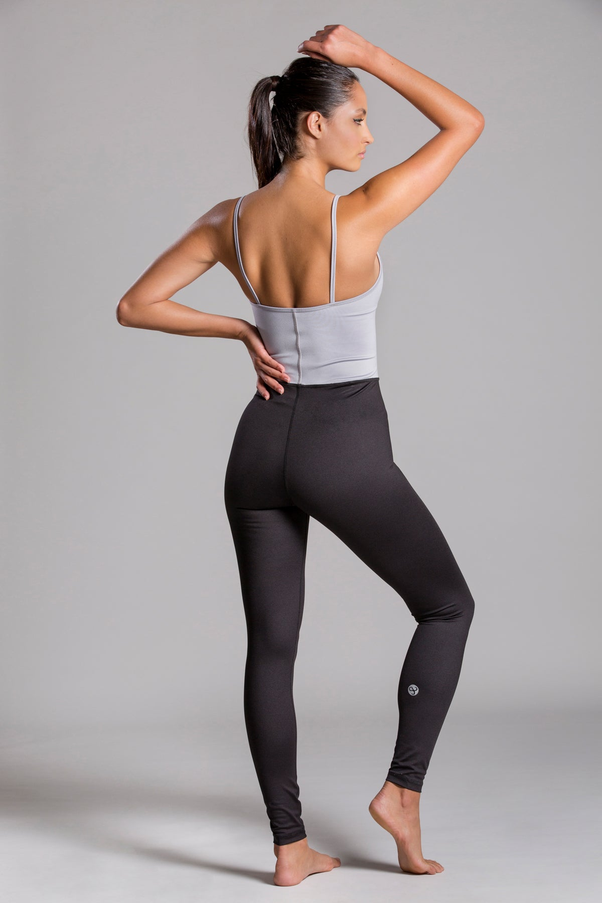 Jumpsuit Gray Relevé For Body Barre