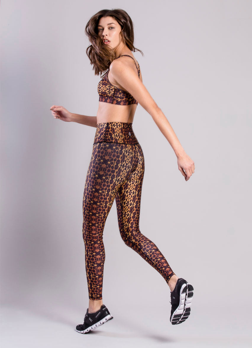 The Legend Leopard Total Look