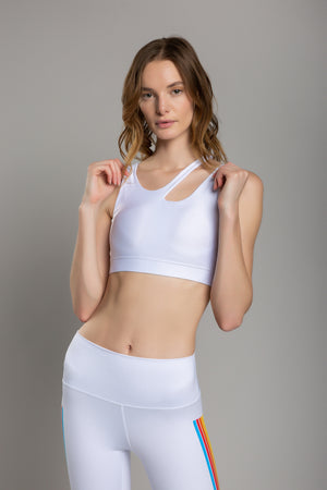 Lexie Basic White Top