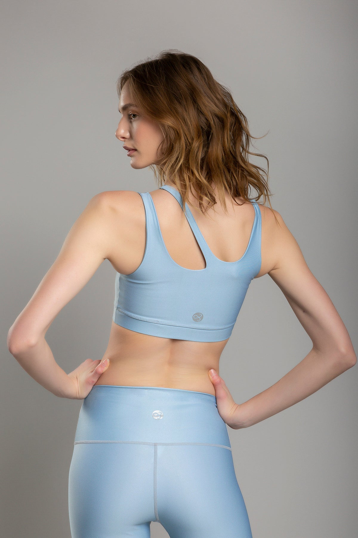 Lexie Basic Sky Blue Top