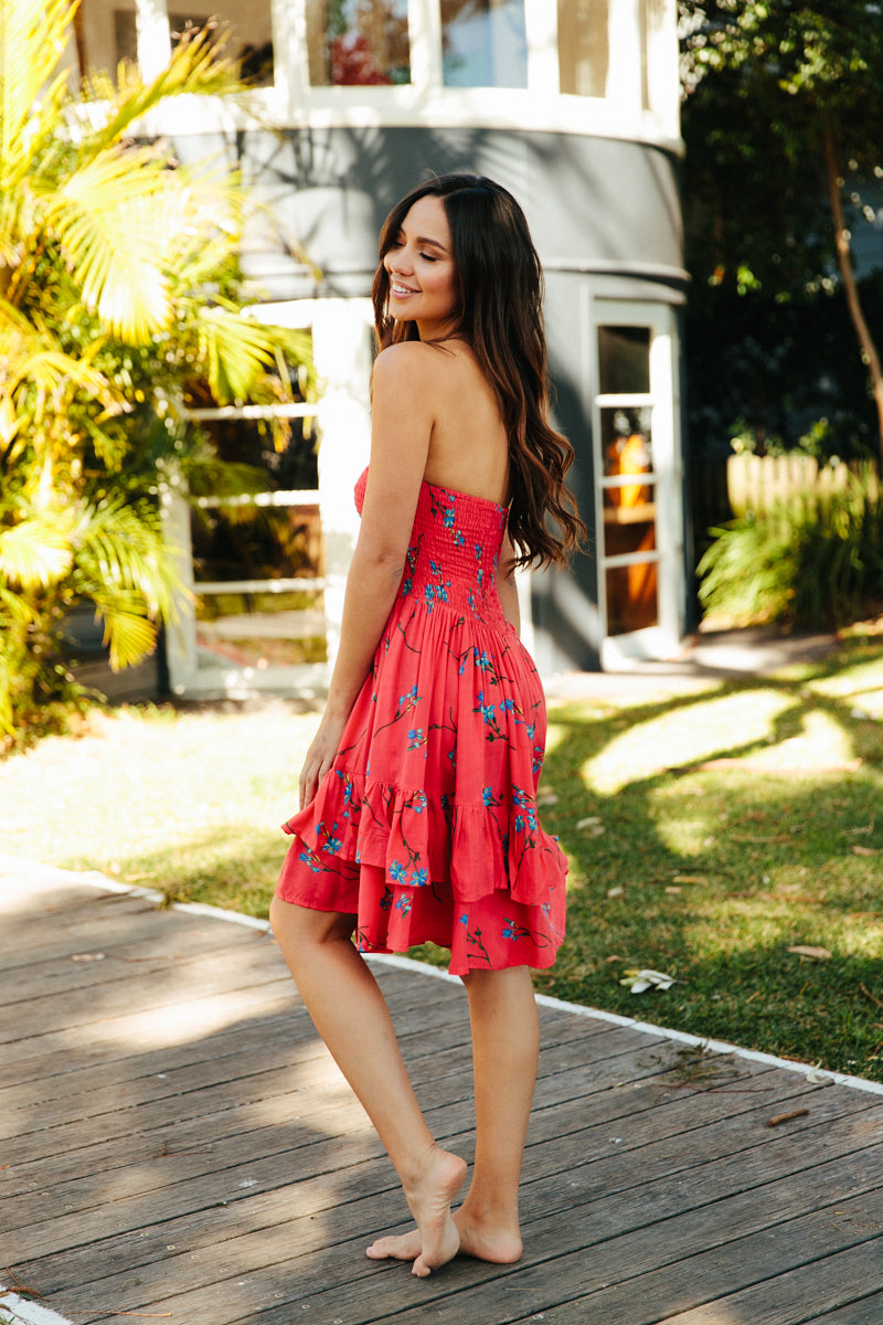 Babylon Salsa Mini Dress