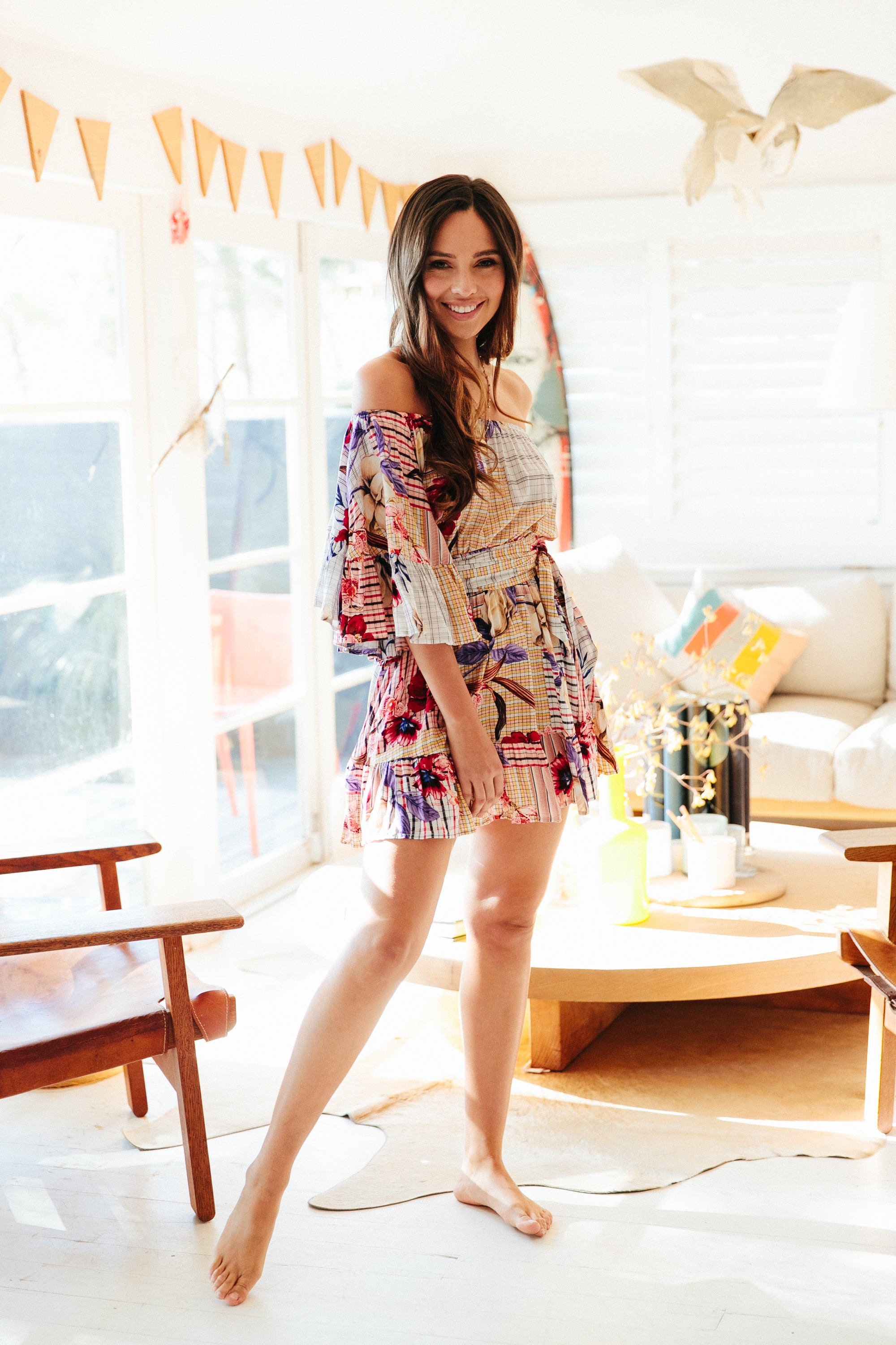 Dream Catcher Print Jasmine Dress
