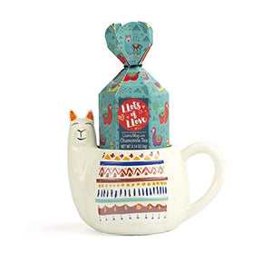 "The Llama Mug""Lots of Love"" Stress-Reducing Gift Set"