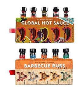 BBQ Rubs and Hot Sauce Gift Set