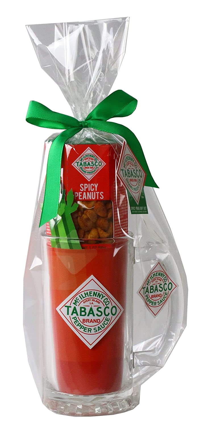 Tabasco Beer Stein Gift Set