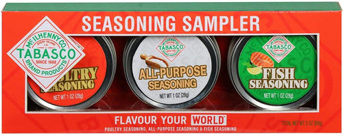 Tabasco Tins Seasoning Sampler