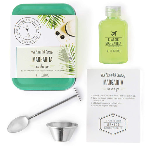 Margarita Cocktail Kit Travel Tin Gift Set
