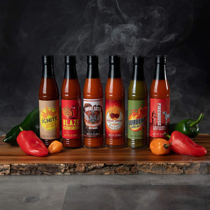 Sound the Alarm Fire Truck Hot Sauce Gift Set
