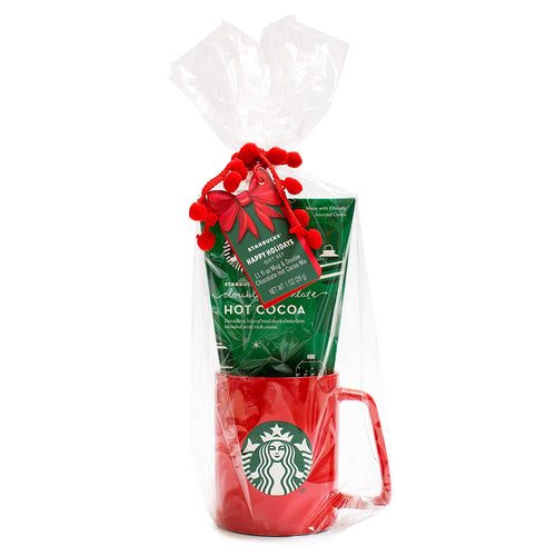 Starbucks Holiday Cocoa Set