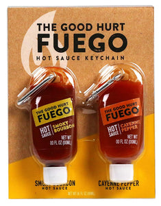 GOOD HURT FUEGO - HOT SAUCE KEY CHAIN
