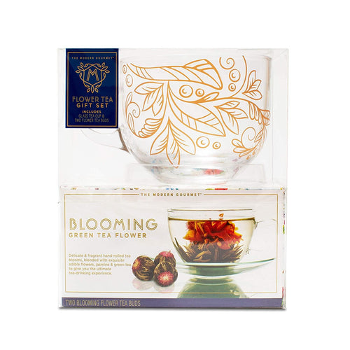 Blooming Tea and Mug Gift Set