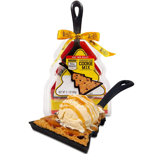 Nestle Toll House Chocolate Chip Cookie Mix: Mini Tree Cast Iron Skillet