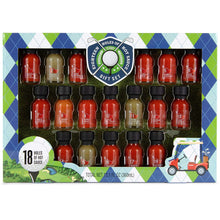 Load image into Gallery viewer, Eighteen Holes of Hot Sauce Gift Set