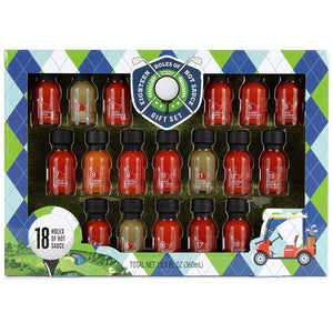 Eighteen Holes of Hot Sauce Gift Set