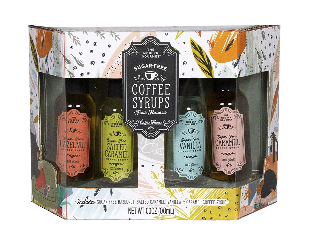 Sugar Free Coffee Syrup 4 Pack