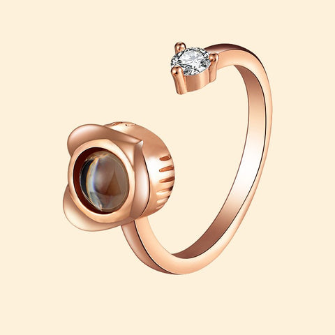 I Love You 100 Language Rings For Women adjustable Silver Rose Gold Levandoo Bestseller Valentines Gift Anniversary Girlfriend Wife Friend Mother