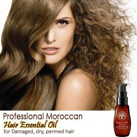 Image of Pure Moroccan Hair Essential Oil