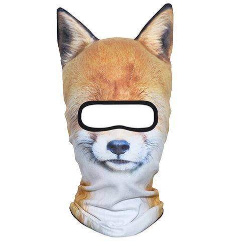 Image of 3D Animal Print Ski Mask