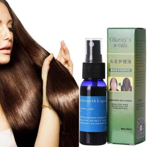 Image of FAST GROWTH HAIR ESSENCE effective solution receding hairline hair thinning