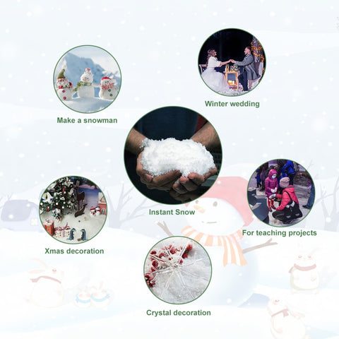 Image of Artificial Instant Snow (30pcs)