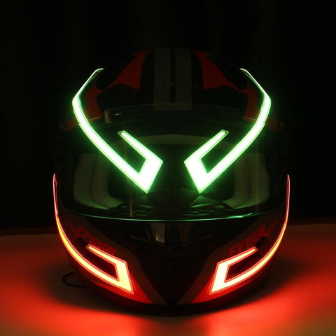 Image of Night Safety Motorcycle Helmet LED Stripe Levandoo Bestseller Top Product Premium Quality Gift for Men Husband Anniversary