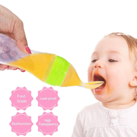 Image of Baby Food Spoon