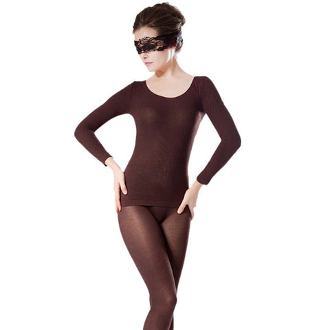 Image of Seamless Thermal Underwear Set