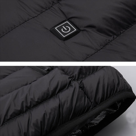 USB Heated Unisex Outdoor Vest Jacket